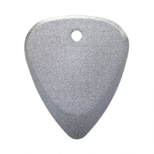 Fusion Tones Silver Anodise 1 Guitar Pick